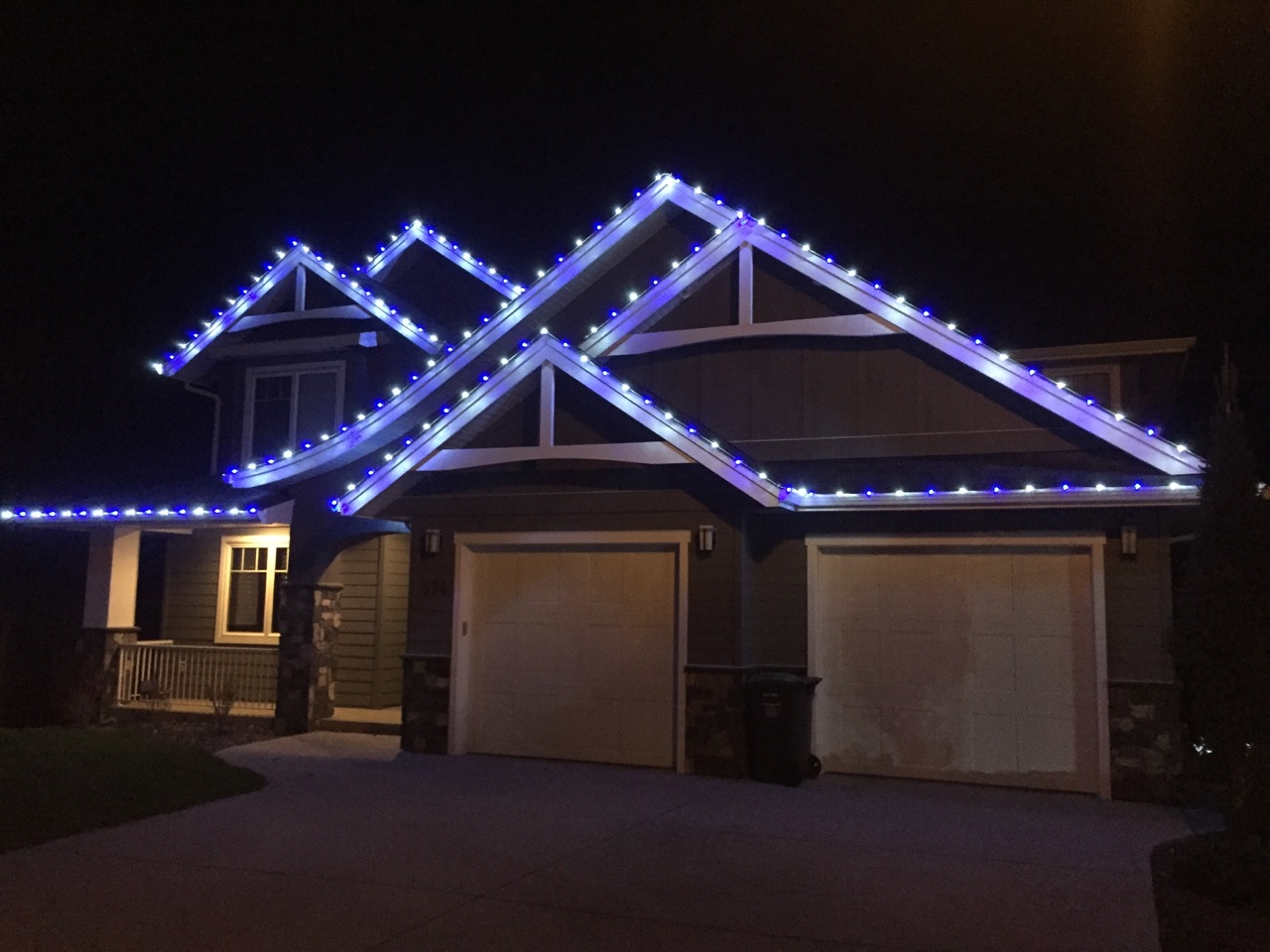 gallery of our custom led light installations silverstar vernon christmas light installation